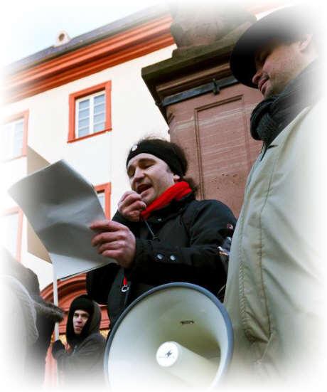 Occupys anti ACTA  Demo in Heidelberg II