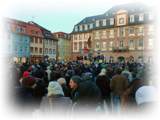 Occupys anti ACTA  Demo in Heidelberg III