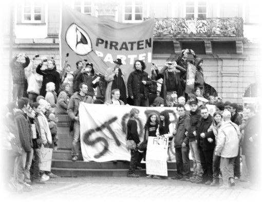 25F Flashmob, Schweigeminute vor Rathaus Heidelberg