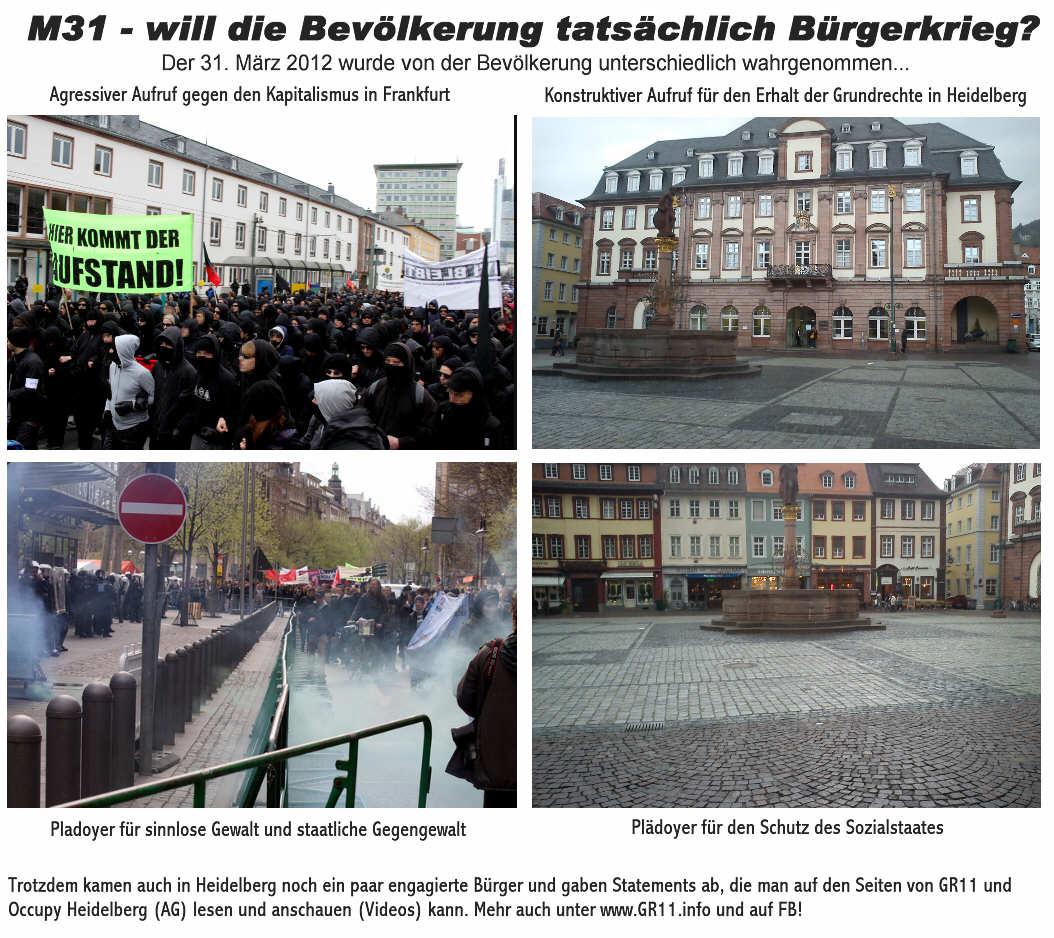 Demo fuer Schutz des Sozialstaates