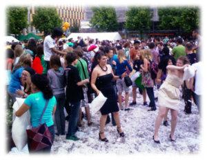 Flash Mob in Mannheim